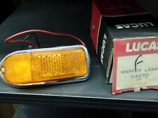 Lucas NOS Genuine 54970 E-Type Side Marker Lamp Assembly