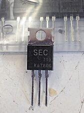 Voltage Regulator KA7806 +6V 1A  (Pack Of 5)