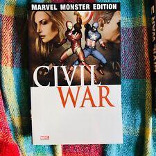 MARVEL MONSTER EDITION 19 CIVIL WAR 1 Avengers Panini
