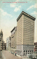 Postcard North American Building Philadelphia Pennsylvania
