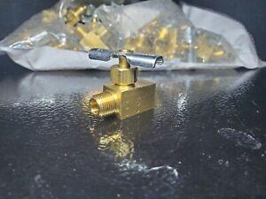 "Eaton 150 Max psi, 1/8"" Pipe, Brass, Inline Instrumentation Needle Valve"