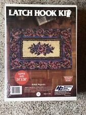 Latch Hook Rug Kit By National Yarn Crafts. R906 Majestic. Size 24 X 36