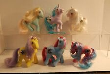 Lot of 6 My Little Pony G1 Princess Tinsel Jewel ponies dolls Serena Tiffany