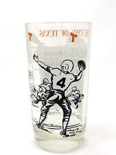 "Vintage 1960's University of Texas Longhorns Pennant 5 1/4"" Eyes of Texas Glass"