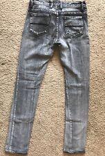 Womens Sass & Bide Skinny Leg Distressed Wash Denim Jeans Size 26