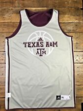 Texas A&M Adidas Basketball Practice Worn Jersey #23 Team Issued Reversible XL