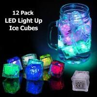 6x Blau LED Glow-Stick Party-Licht Knicklicht Schaumstoff-Leucht-Stab Blink-Stab