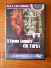 DVD EL SANTO SUDARIO DE TURIN - VIAJE A LO DESCONOCIDO 10 - F. JIMENEZ DEL OSO