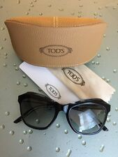 NWT TOD's Women's Cat Eye Sunglasses Made in Italy Eye-Bridge-Temple 52-18-140mm