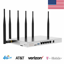 4G LTE Router AT&T Verizon SIM Card T-Mobile Industrial 1200Mbps Hotspot WiFi