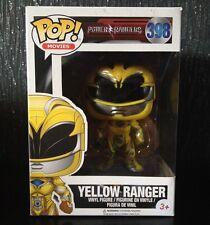 Pop Vinilo Power Rangers película Amarillo Ranger 398 Funko Chica Figura Juguete Nuevo