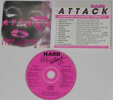 David J, Revenge,Luxuria, Gene Loves Jezebel - Hard Attack Summer '90 Promo CD