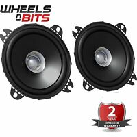NEW JVC CS-J410X 100mm 10cm 4 Inch Dual-Cone Car Door Shelf Speakers 210Watt
