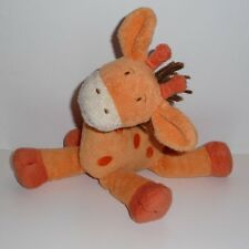 Doudou Girafe Orchestra - Orange