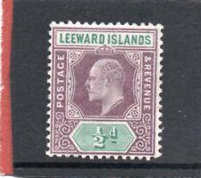 Leeward Island EV11 1902 1/2d dull purple & green sg 20 VLH.Mint