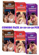 Durex Kohinoor Kala Khatta Chocolate Strawberry Condoms (10+10+10=30 Pcs Pack)