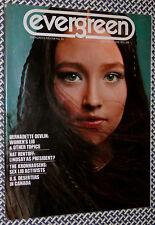1971 EVERGREEN Magazine, NAT HENTOFF, FRANK O'HARA, Abbie Hoffman, Erotica