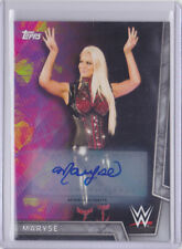 2018 Topps WWE Women's Division Maryse /50 Auto BLUE Autographs