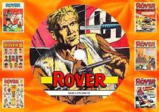 Rover UK Comic (1969-73) On PC DVD Rom (CBR FORMAT)