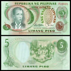 PHILIPPINES 5 Piso, 1978, P-160c, UNC World Currency