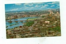 MA Boston Massachusetts vintage post card Charles River Basin view