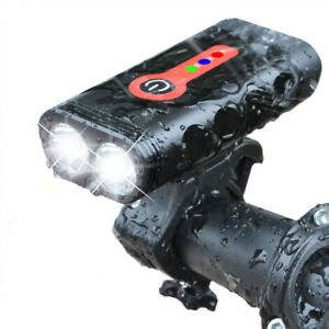 Bicycle Headlight MILITARY GRADE USB Rechargeable Light Bike Front Light Cycling