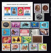 Luxemburg postfrisch Jahrgang 1985