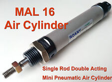 NEW MAL 16mm x 75mm Single Rod Double Acting Mini Pneumatic Air Cylinder 16x75
