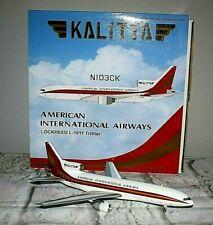 Kalitta American International Lockheed L-1011 TriStar Airplane Model N103CK