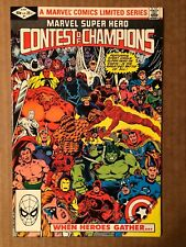 Marvel Super Hero Contest of Champions (1982) #1 Multiple 1st Appearances