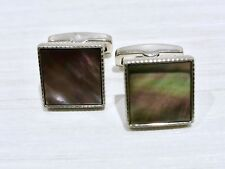 NWOT HUGO BOSS CUFF LINKS -- MADE IN ITALY