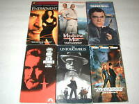 SEAN CONNERY 6 PACK VHS MOVIE LOT RARE OOP HTF