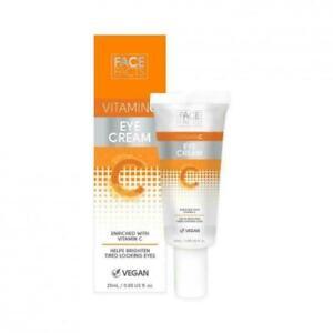 Face Facts Eye Cream Skin Care Brighten, Vegan Vitamin C (25ml)