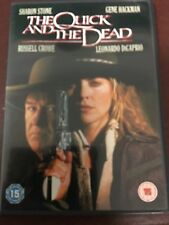 The Quick and the Dead DVD with Hackman, DiCaprio, Crowe and Sharon Stone