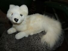 white Plush fox 12 x 7 Fiesta