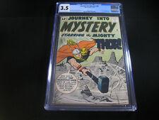 Journey into Mystery #86 CGC 3.5 (1962 Marvel)