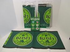 "2 St. Patrick'S Day Shamrock Irish Party Party Tablecloth 54"" X 102""~Pin Buttons"