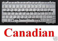 Toshiba Portege M800 M805 Keyboard - Canadian CA - Silver