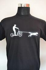 More details for joring scooter siberian husky  malamute personalised t shirt sled dog huskies