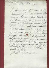 Bagnarola di Budrio 1715 Sequestro di Masserie