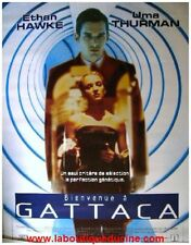 BIENVENUE A GATTACA Affiche Cinéma / French Movie Poster JUDE LAW / UMA THURMAN