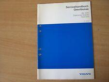 Volvo Omnibusse Elektr. Retarder Focal 2200 Werkstatthandbuch Ausgabe 04.1994