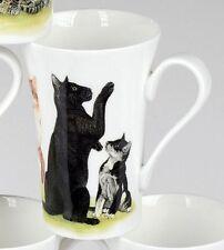 Roy Kirkham Cats Collection schwarze Katze Henkelbecher Tasse 0,35 L