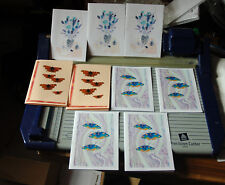 9 LETTER CARD NOTELETS WITH NO ENVELOPES FREE P&P