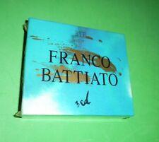 RARO box 3 cd - FRANCO BATTIATO - SIGILLATO - leggi i titoli nel sottotitolo