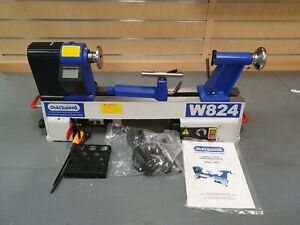 """EX DISPLAY - COLLECTION ONLY - Charnwood W824 Woodturning Lathe, 12"""" x 14"""""""