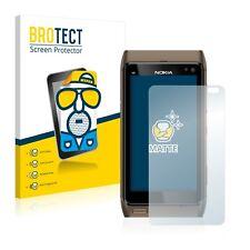 2x protector de pantalla mate para Nokia n8 lámina protectora protector de pantalla Lámina