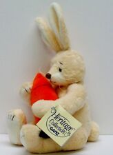 GANZ PLUSH RABBIT & Large Carrot O'HARA with Tags HERITAGE COLLECTION Excellent!