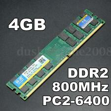 XIEDE 4 GB Barette Mémoire RAM DDR2 800Mhz PC2-6400 DIMM 240 Pin AMD Desktop PC
