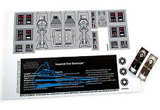 CUSTOMISED STICKERS for Lego 6211 IMPERIAL STAR DESTROYER ,MODELS, ETC + BONUS
